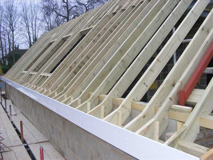 Trade Carpentry Cut And Pitch Roof Specialists Our